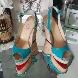 Christian Louboutin 140mm Wedges 37.5
